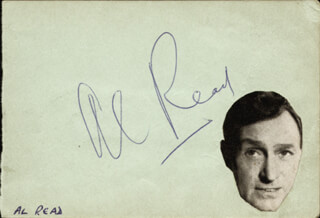 ALAN REED - AUTOGRAPH CO-SIGNED BY: IAN LAWSON