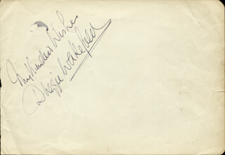 DUGGIE WAKEFIELD - AUTOGRAPH SENTIMENT SIGNED