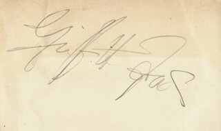 GRIFFITH JONES - AUTOGRAPH