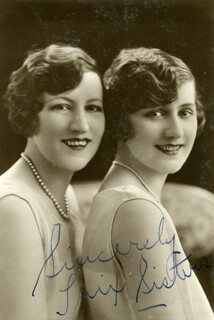 THE TRIX SISTERS - AUTOGRAPHED SIGNED PHOTOGRAPH