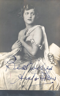 ANITA ELSON - AUTOGRAPHED SIGNED PHOTOGRAPH