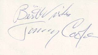 TOMMY COOPER - AUTOGRAPH SENTIMENT SIGNED