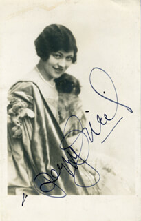 PEGGY O'NEIL - AUTOGRAPHED SIGNED PHOTOGRAPH