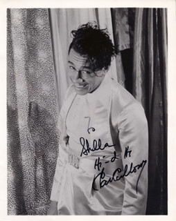 CAB CALLOWAY - AUTOGRAPHED INSCRIBED PHOTOGRAPH