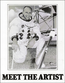Autographs: CAPTAIN ALAN L. BEAN - PROGRAM SIGNED