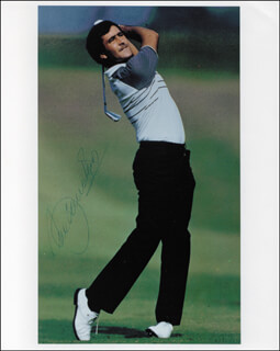 Autographs: SEVE BALLESTEROS - PHOTOGRAPH SIGNED