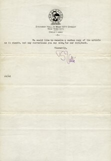 RUDY VALLEE - TYPED LETTER SIGNED 07/27/1932