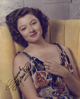 MYRNA LOY - AUTOGRAPHED SIGNED PHOTOGRAPH
