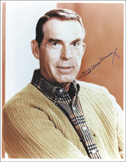 FRED MacMURRAY - AUTOGRAPHED SIGNED PHOTOGRAPH