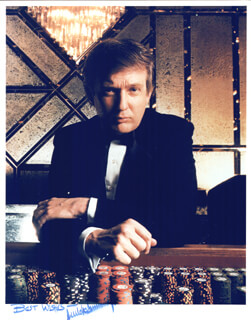 DONALD J. TRUMP - AUTOGRAPHED SIGNED PHOTOGRAPH