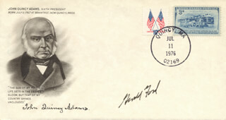 PRESIDENT GERALD R. FORD - COMMEMORATIVE COVER SIGNED