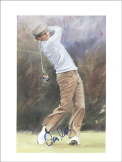 JERRY PATE - PRINTED ART SIGNED IN INK