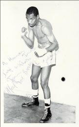 ALFRED BUQWANA - AUTOGRAPHED INSCRIBED PHOTOGRAPH
