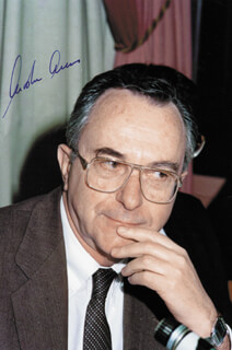 Autographs: MOSHE ARENS - PHOTOGRAPH SIGNED