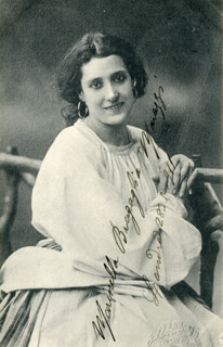 MARINELLA BRAGAGLIA MARAZZI - PICTURE POST CARD SIGNED 05/28/1911