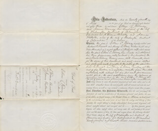 FREDERICK DOUGLASS - DEED SIGNED 07/24/1883 - HFSID 148407
