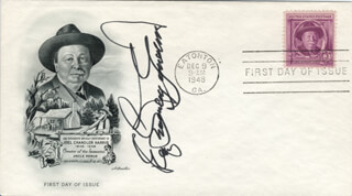 ERLE STANLEY GARDNER - FIRST DAY COVER SIGNED