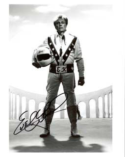 EVEL KNIEVEL - AUTOGRAPHED SIGNED PHOTOGRAPH
