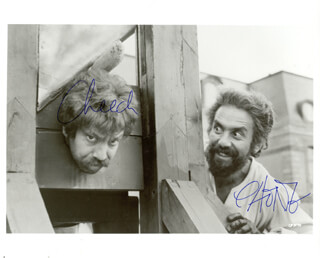 CHEECH & CHONG - AUTOGRAPHED SIGNED PHOTOGRAPH CO-SIGNED BY: CHEECH & CHONG (CHEECH MARIN), CHEECH & CHONG (TOMMY CHONG)