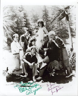 GILLIGAN'S ISLAND TV CAST - AUTOGRAPHED INSCRIBED PHOTOGRAPH CO-SIGNED BY: JIM BACKUS, BOB DENVER