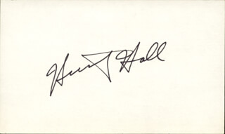 HUNTZ HALL - AUTOGRAPH