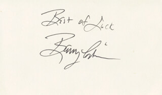 BARRY CORBIN - AUTOGRAPH SENTIMENT SIGNED