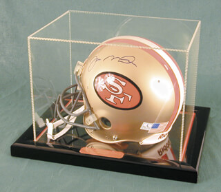 JOE MONTANA - FOOTBALL HELMET SIGNED