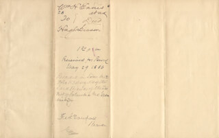 FREDERICK DOUGLASS - DEED SIGNED 05/29/1886 - HFSID 150655