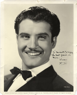 GEORGE SUPERMAN REEVES - AUTOGRAPHED SIGNED PHOTOGRAPH CIRCA 1940