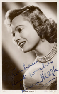 ANNA NEAGLE - AUTOGRAPHED INSCRIBED PHOTOGRAPH