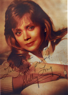 SHELLEY LONG - AUTOGRAPHED SIGNED PHOTOGRAPH