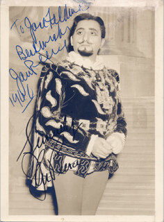 JAN PEERCE - AUTOGRAPHED INSCRIBED PHOTOGRAPH 1966