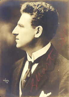GIOVANNI MARTINELLI - AUTOGRAPHED SIGNED PHOTOGRAPH