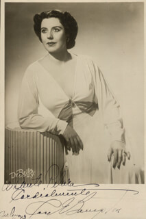 ROSE BAMPTON - AUTOGRAPHED INSCRIBED PHOTOGRAPH 07/1943