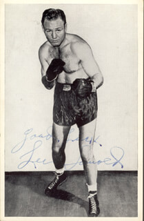LEE SAVOLD - PICTURE POST CARD SIGNED