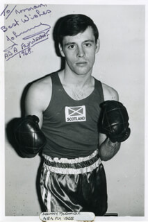 JOHN JOHNNY McGONIGLE - AUTOGRAPHED INSCRIBED PHOTOGRAPH