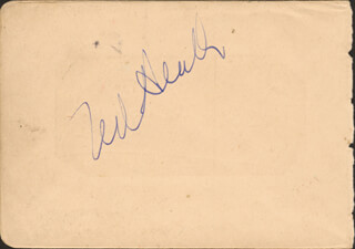 TED HEATH BAND (TED HEATH) - AUTOGRAPH CIRCA 1935 CO-SIGNED BY: JACK PAYNE