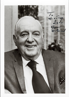 PAT O'BRIEN - AUTOGRAPHED INSCRIBED PHOTOGRAPH