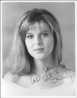 Autographs: CATHERINE OXENBERG - INSCRIBED PHOTOGRAPH SIGNED