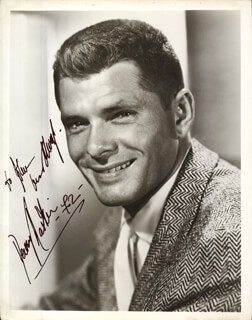 DEWEY MARTIN - AUTOGRAPHED INSCRIBED PHOTOGRAPH 1972