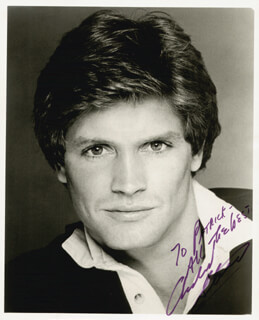 ANDREW STEVENS - AUTOGRAPHED INSCRIBED PHOTOGRAPH 04/06/1984