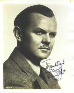 LAWRENCE TIBBETT - AUTOGRAPHED INSCRIBED PHOTOGRAPH 1951