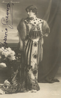 ROSARIO GUERRERO - PICTURE POST CARD SIGNED