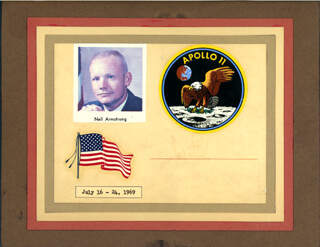 NEIL ARMSTRONG - SPECIAL COVER SIGNED