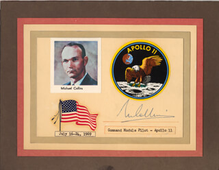 Autographs: BRIGADIER GENERAL MICHAEL COLLINS - SIGNATURE(S)