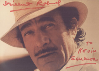 GILBERT ROLAND - AUTOGRAPHED INSCRIBED PHOTOGRAPH 01/1983