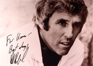 BURT BACHARACH - AUTOGRAPHED INSCRIBED PHOTOGRAPH 08/1988