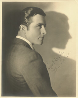 Autographs: JOHN BOLES - PHOTOGRAPH SIGNED
