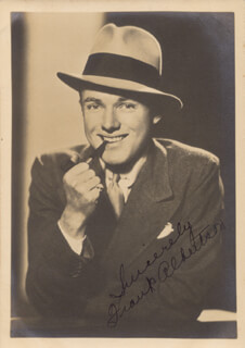 FRANK ALBERTSON - AUTOGRAPHED SIGNED PHOTOGRAPH