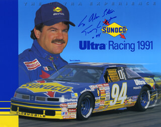 TERRY LABONTE - AUTOGRAPHED INSCRIBED PHOTOGRAPH